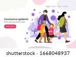 coronavirus in china. new wuhan ... | Shutterstock .eps vector #1668048937