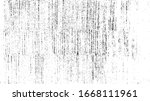 rough black and white texture... | Shutterstock .eps vector #1668111961