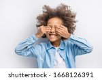 Portrait Of Smiling Child With...