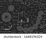scientific vector endless...   Shutterstock .eps vector #1668196324