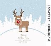 Reindeer Merry Christmas Winter ...