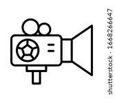 camera  football icon. simple...