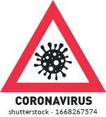 coronavirus vector. corona... | Shutterstock .eps vector #1668267574