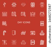 editable 22 day icons for web...