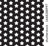 seamless star pattern. stars... | Shutterstock .eps vector #1668288997