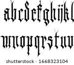 decorative ornamental... | Shutterstock .eps vector #1668323104