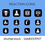 reaction icon set. 12 filled... | Shutterstock .eps vector #1668353947