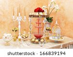 Decoration Of Wedding Table....