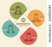 info graphic element | Shutterstock .eps vector #166846181