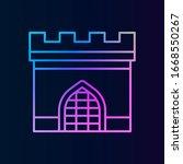 history  gate nolan style icon. ...