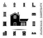 house outline icon. simple thin ...