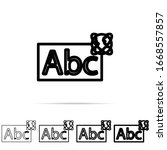 abc whiteboardoutline icon in...