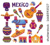 Vector Colorful Set Of...