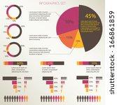 Infographics Set  Pie Chart...