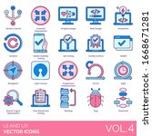 ux and ui icons including...