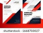 business brochure flyer design... | Shutterstock .eps vector #1668703027