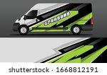 sport car decal wrap design... | Shutterstock .eps vector #1668812191