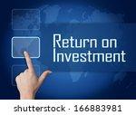 Return On Investment Concept...