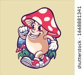 Magic Mushroom Character...