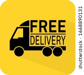 free shipping sign. delivery...