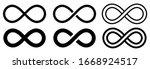 Infinity Symbol Set. Vector...