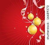 illustration of a christmas... | Shutterstock .eps vector #16689373