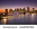 Brooklyn Bridge Over The East...