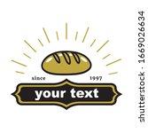 bakery and dessert logo design...   Shutterstock .eps vector #1669026634