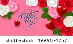 greeting card for mother's day... | Shutterstock .eps vector #1669074757