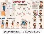 coronavirus   cov infographics  ... | Shutterstock .eps vector #1669085197