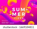 summer abstract gradient... | Shutterstock .eps vector #1669104811