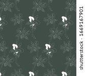 vector pattern  repeating... | Shutterstock .eps vector #1669167901