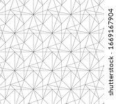 geometric vector pattern ... | Shutterstock .eps vector #1669167904