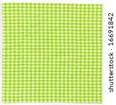 checked fabric cloth | Shutterstock . vector #16691842