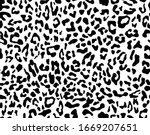 leopard texture repeats... | Shutterstock .eps vector #1669207651