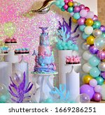 Baby girl genuine birthday cake ...