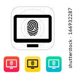 desktop fingerprint icon....