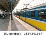Regional New Blue Yellow Train...