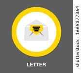letter symbol icon. simple...
