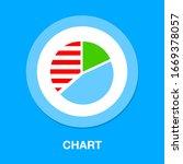 pie chart concept icon. simple...