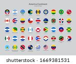 america continent countries... | Shutterstock .eps vector #1669381531