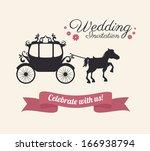 love design over  pink ... | Shutterstock .eps vector #166938794