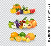 Fresh Fruits Vector...