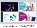 reliable parents set. parents... | Shutterstock .eps vector #1669409887
