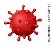 coronavirus covid 19 virus... | Shutterstock .eps vector #1669425457