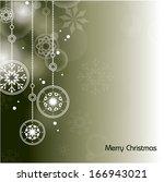 christmas vector background.  | Shutterstock .eps vector #166943021
