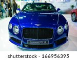 Постер, плакат: Bentley Motors Bentley GT