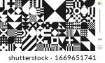 bauhaus and swiss pattern... | Shutterstock .eps vector #1669651741