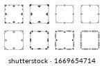 elegant decorative frame set.... | Shutterstock .eps vector #1669654714
