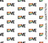 gay lesbian pride vector...   Shutterstock .eps vector #1669774744